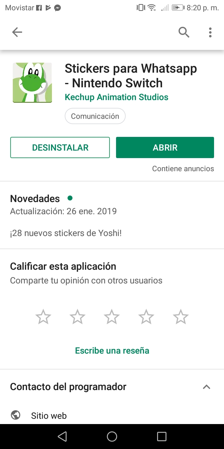 Nuevos sticker de Yoshi Screen11