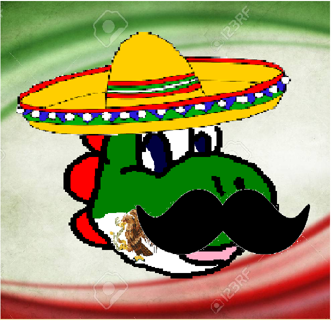 Yoshi mexicano :v Wefof23