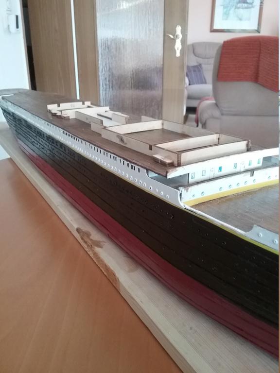 Titanic von Hachette Maßstab 1:250 20180830