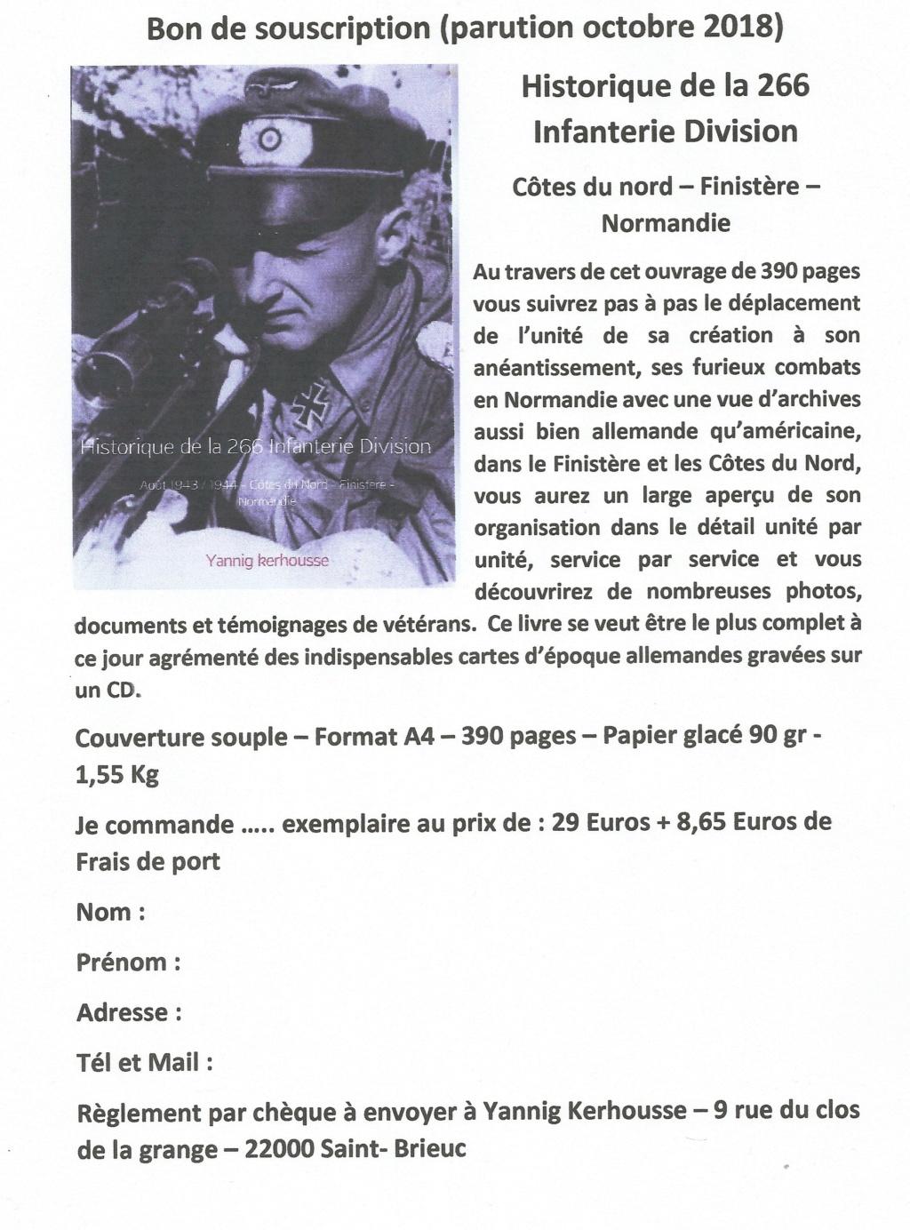 Ouvrage sur la 266.Infanterie Division - Page 2 Bon_de12