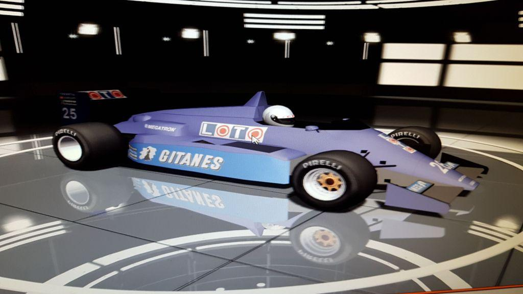 F1 1987 Mod rFactor 110