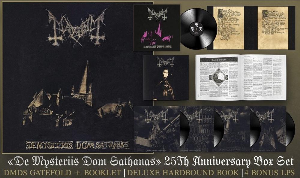 MAYHEM - De Mysteriis Dom Sathanas - box 25e anniversaire 0011