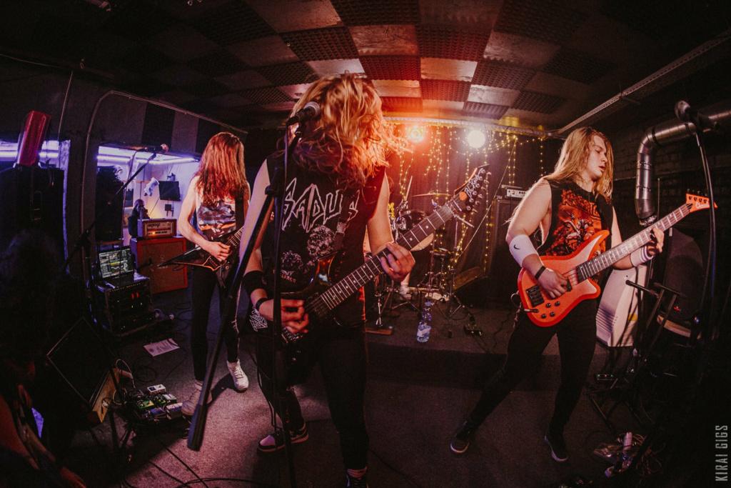 """MORTAL VISION (Thrash Metal / Ukraine) - 1er album, """"Mind Manipulation"""", prévu pour le 29 octobre 2021 00247210"""