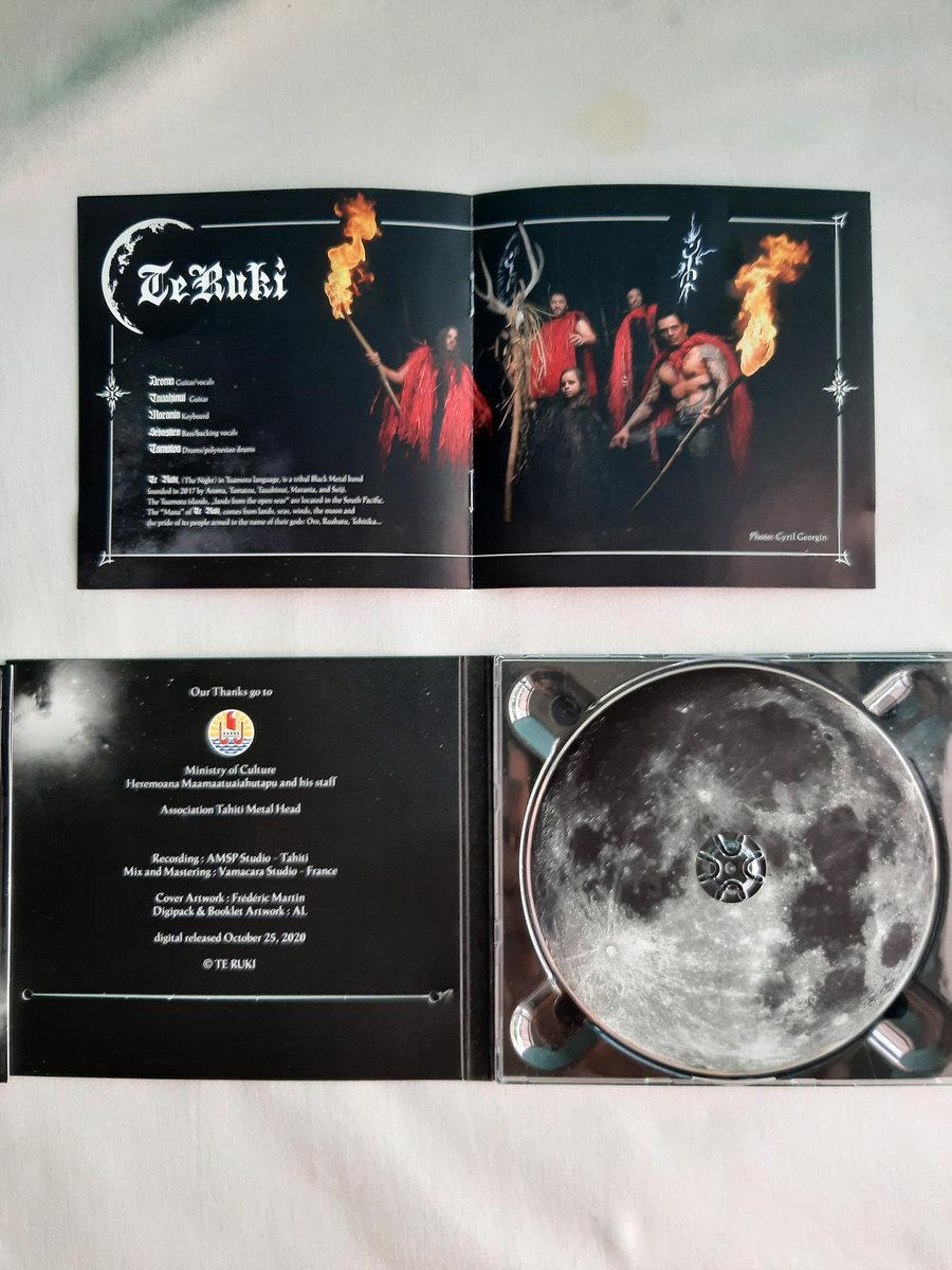 TE RUKI - Black Metal / Polynésie : Leur 1er EP ! 00248210
