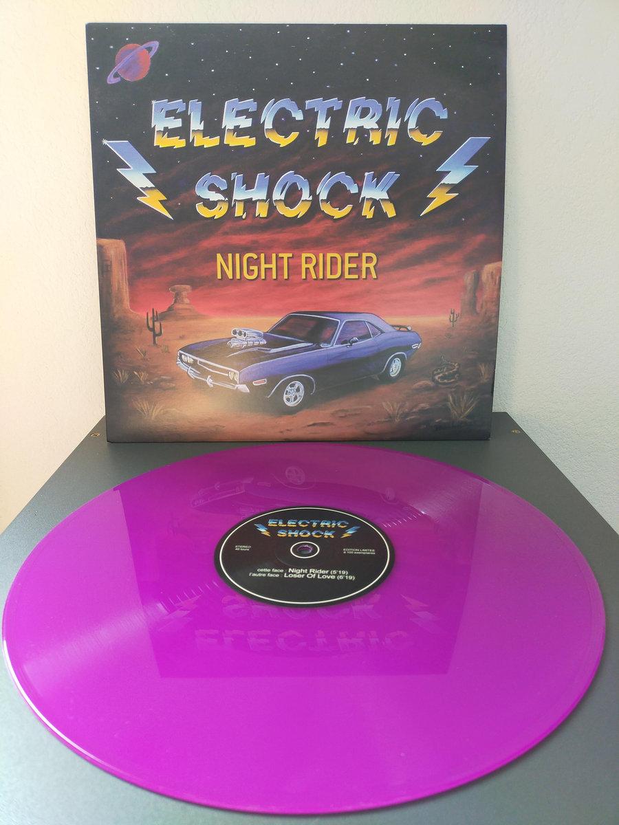 ELECTRIC SHOCK (Hard rock, Grenoble) - Nouveau maxi 45 tours ! 00261410
