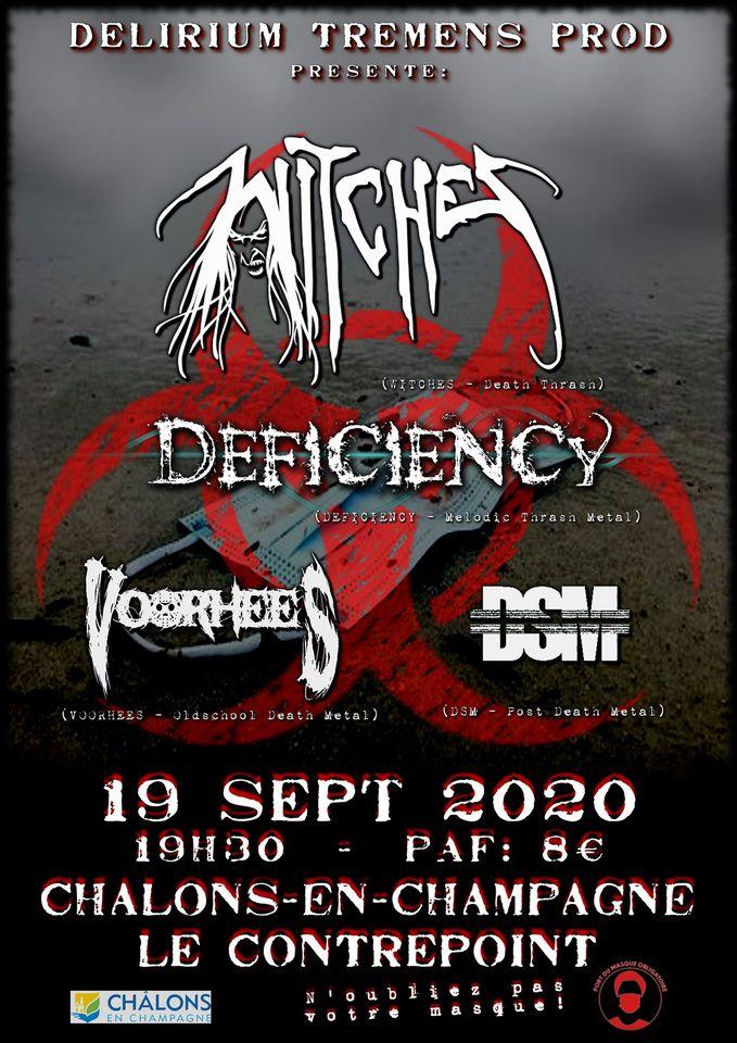 Concert de WITCHES à Chalons ce soir, 19 septembre ! 11819410
