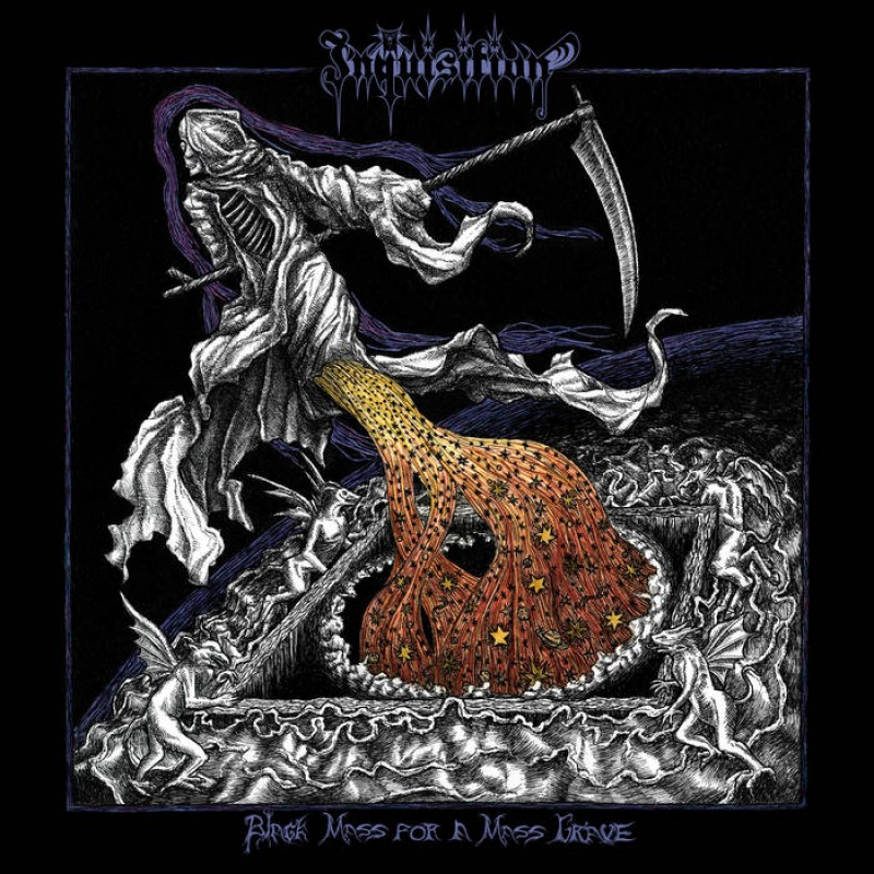 "INQUISITION - Black Metal - ""Black Mass for a Mass Grave"" 14566710"