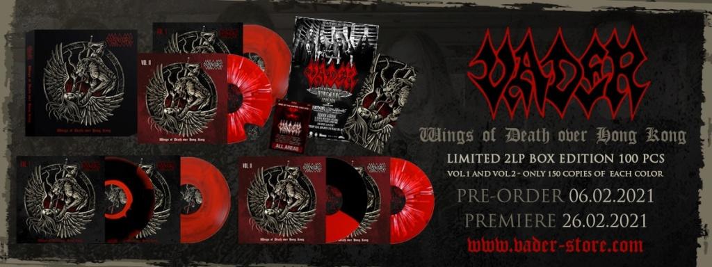 VADER (Death Metal / Pologne) - Live à Hong Kong, sortie le 6 février ! 14623510
