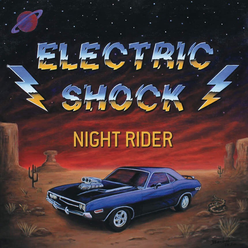 ELECTRIC SHOCK (Hard rock, Grenoble) - Nouveau maxi 45 tours ! 15976110