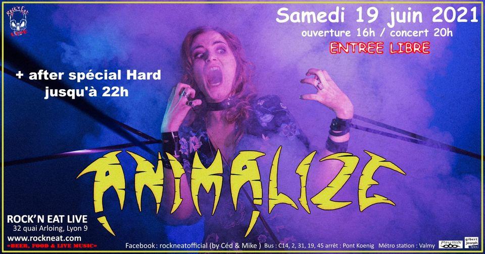 ANIMALIZE au Rock n'Eat (Lyon) le 19 juin !! 19280710