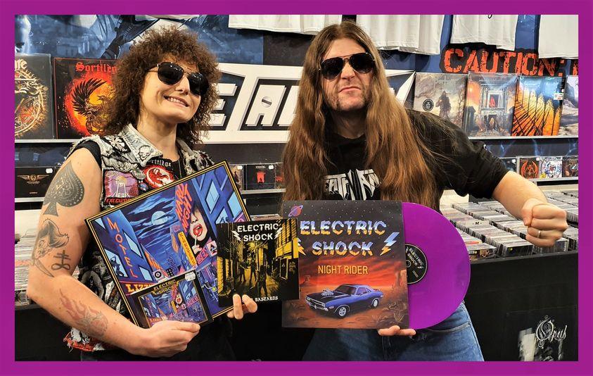 ELECTRIC SHOCK (Hard rock, Grenoble) - Nouveau maxi 45 tours ! 24279810