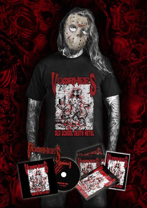 """VOORHEES (Death Metal) - Pré-ventes pour """"Chapter Two & a Half"""" 24385310"""