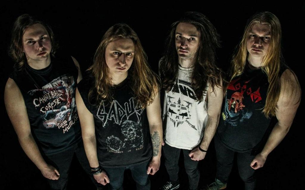 """MORTAL VISION (Thrash Metal / Ukraine) - 1er album, """"Mind Manipulation"""", prévu pour le 29 octobre 2021 35404610"""