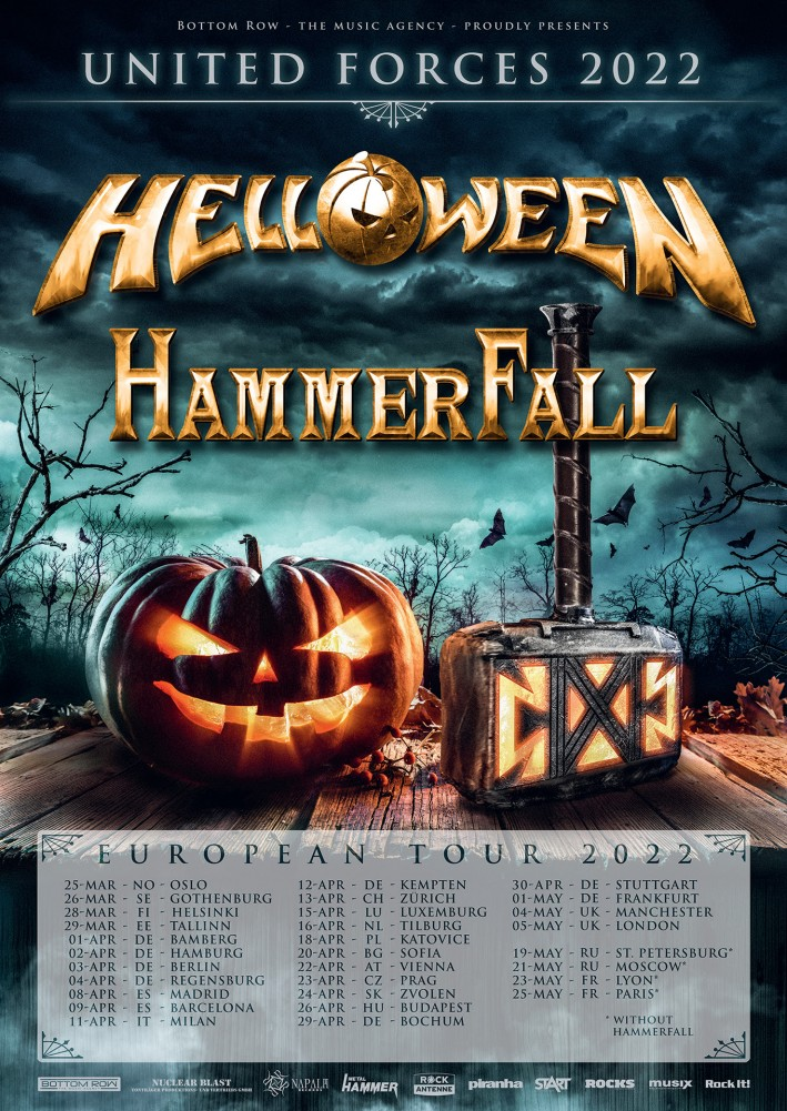 HELLOWEEN / Hammerfall - United Forces Tour 2022  36904-10
