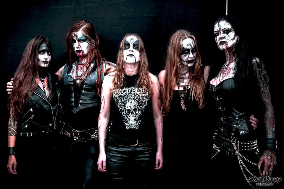 ASAGRAUM - groupe de Black Metal féminin 42111710