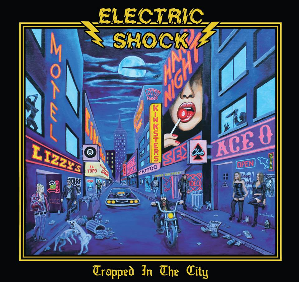 "Electric shock ""trapped in the city"" rock'n'roll/hard rock 2019 52647410"