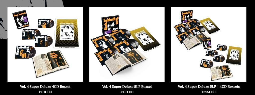 """BLACK SABBATH - Réédition du """"Vol. 4"""" annoncée + bonus ! 5555510"""
