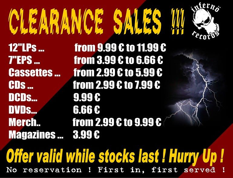 DESTOCKAGE max chez INFERNÖ RECORDS !! 61086110