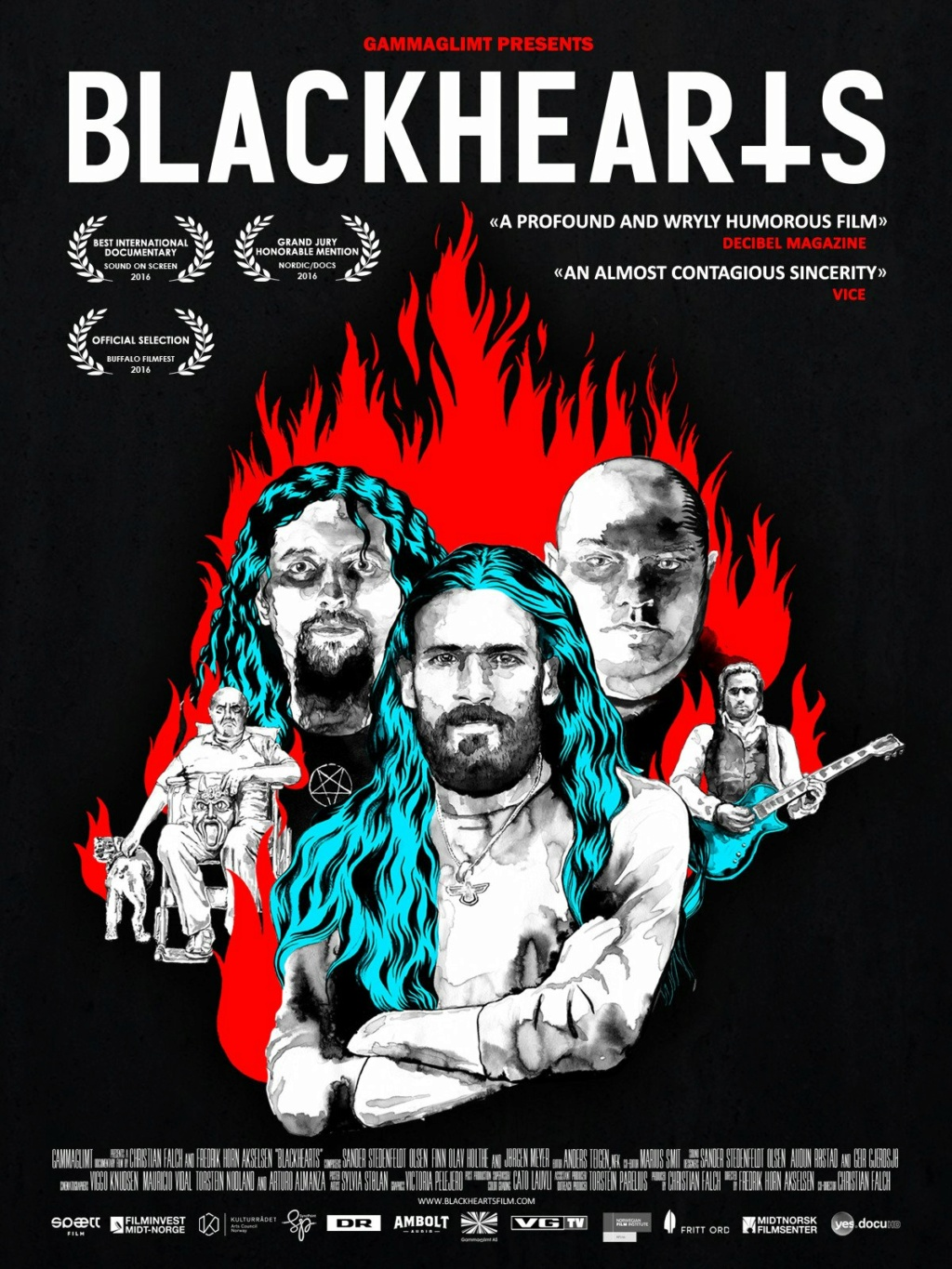 Blackhearts - Un documentaire sur le Black Metal 81vhfv10