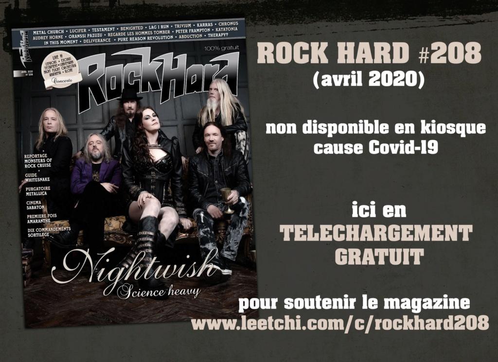 Le nouveau numéro de ROCK HARD en téléchargement gratuit 91690810