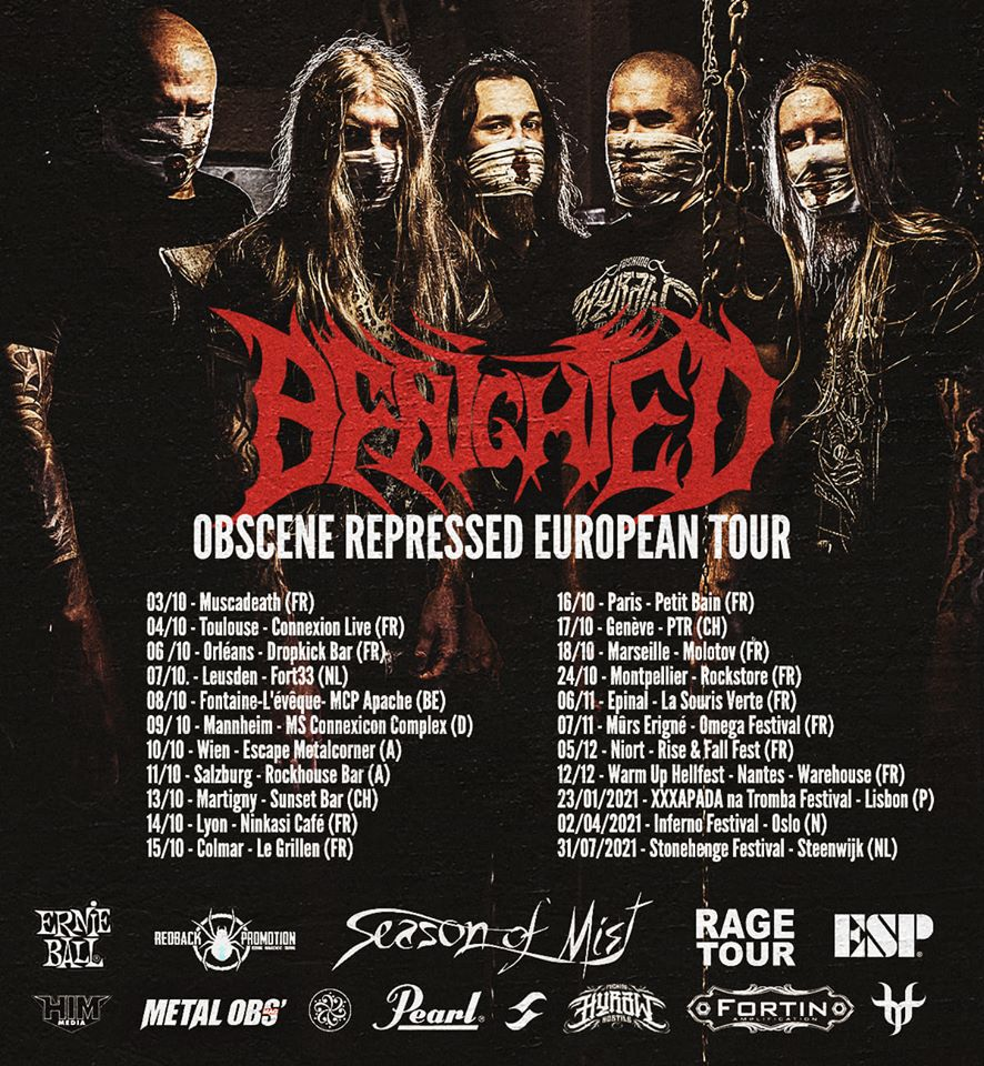 BENIGHTED annonce sa tournée  96360810