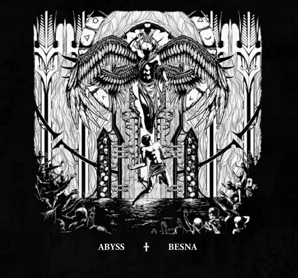 ABYSS / BESNA (Black Metal Allemagne - Slovaquie) on sorti un split  A1682110