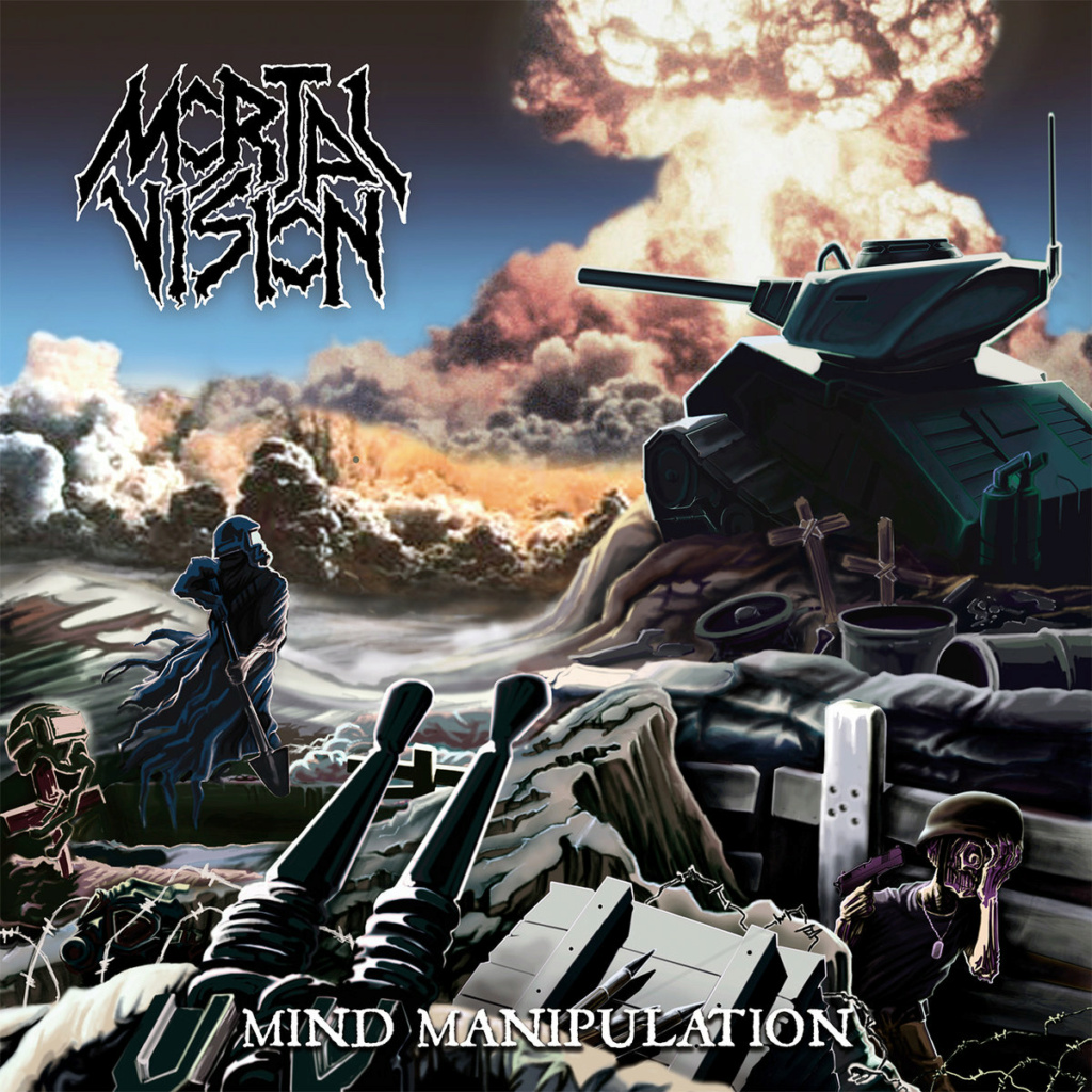 """MORTAL VISION (Thrash Metal / Ukraine) - 1er album, """"Mind Manipulation"""", prévu pour le 29 octobre 2021 A2190210"""