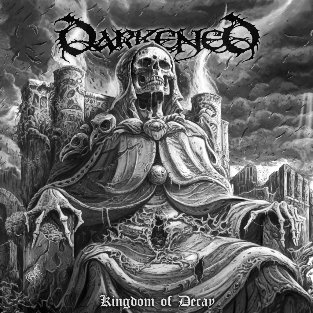 DARKENED (Death Metal / pluri-national) : son nouve album en pré-commande A2319010