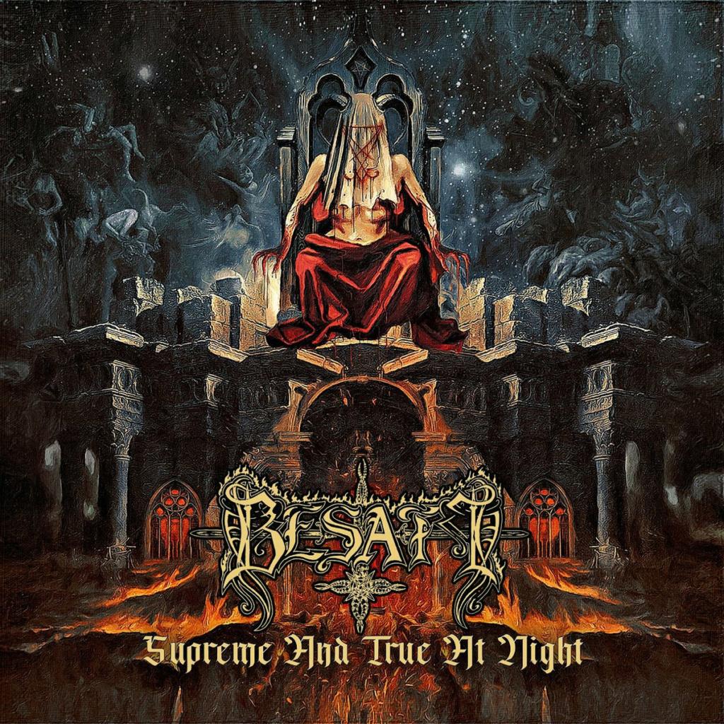 "BESATT (Black Metal / Pologne) - Nouvel album, ""Supreme and True at Night"", sorti le 27 août 2021 A3071010"
