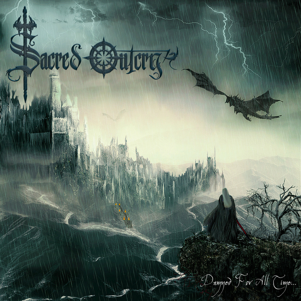 "SACRED OUTCRY - ""Damned For All Time"" (Heavy / Grèce) A3397310"