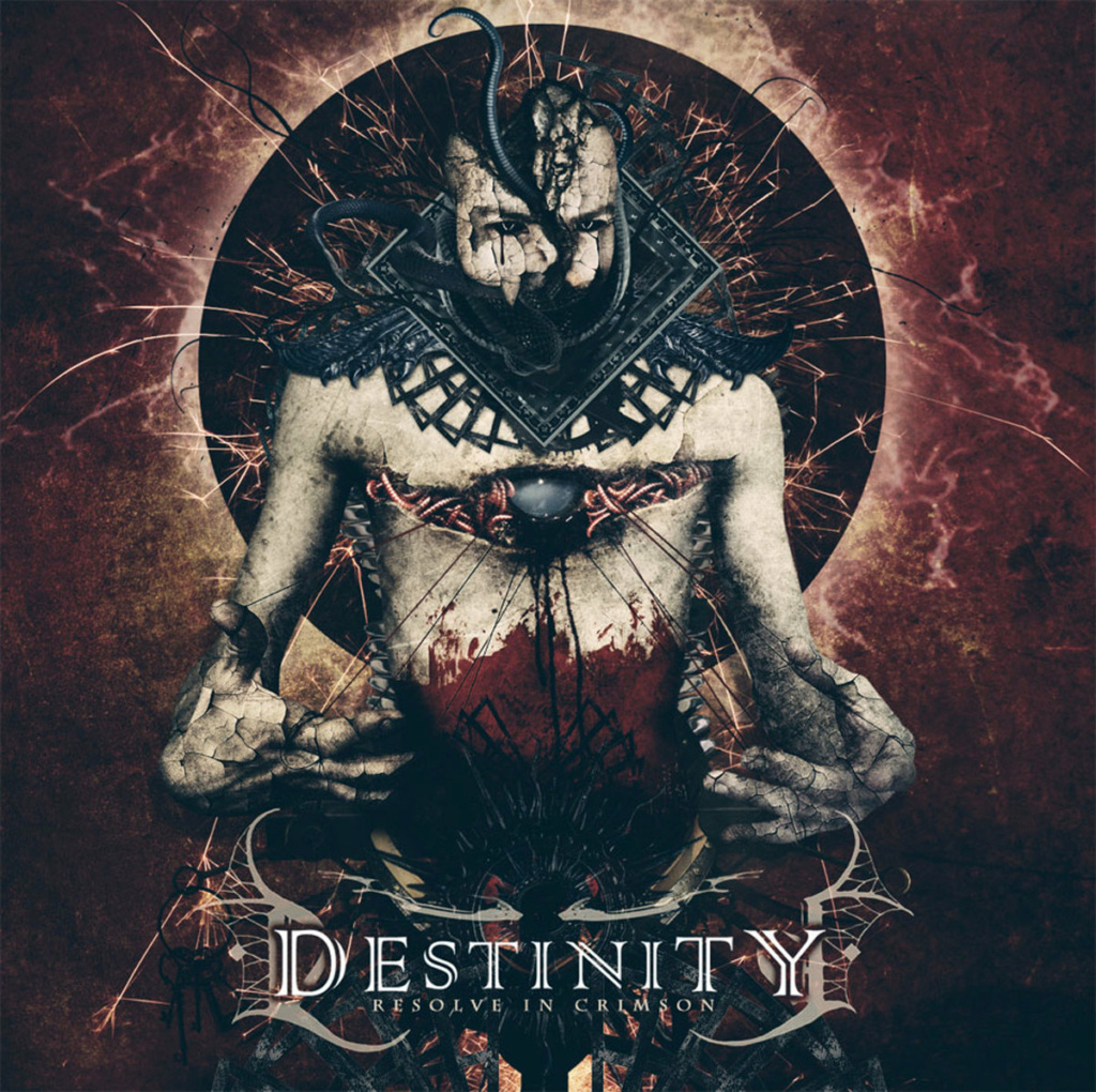 "DESTINITY - Thrash / Death - L'album ""Resolve In Crimson"" en vinyle A3446710"