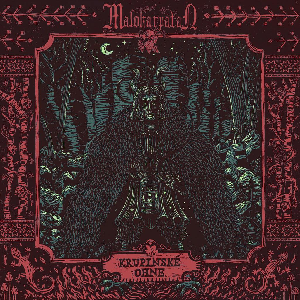 """MALOKARPATAN (Heavy/Black - Slovaquie) - leur nouvel album """"Krupinské ohne"""" A4240010"""