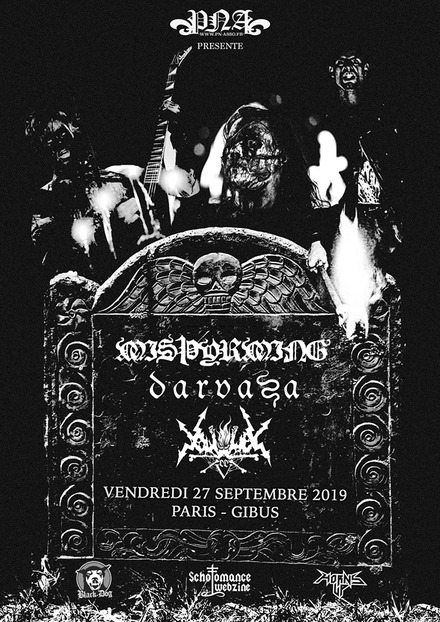 Le 27-09-2019 - Gibus, Paris - Vortex of End + Darvaza + Misþyrming Affich10