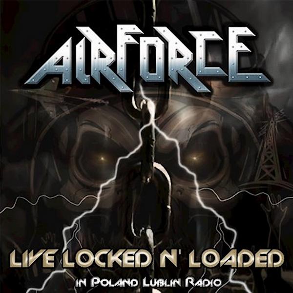 AIRFORCE (Heavy Metal / Angleterre) - un album live à paraître le 24 septembre 2021 Airfor10