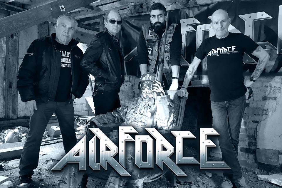 AIRFORCE (Heavy Metal / Angleterre) - un album live à paraître le 24 septembre 2021 Airfor11