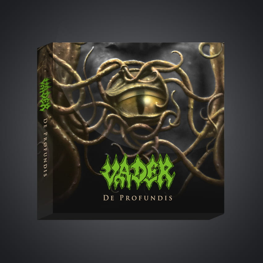 """[Report printemps 2021] VADER - Réédition de l'album """"De Profundis"""" fin 2020... dans tous les formats ! Box11"""