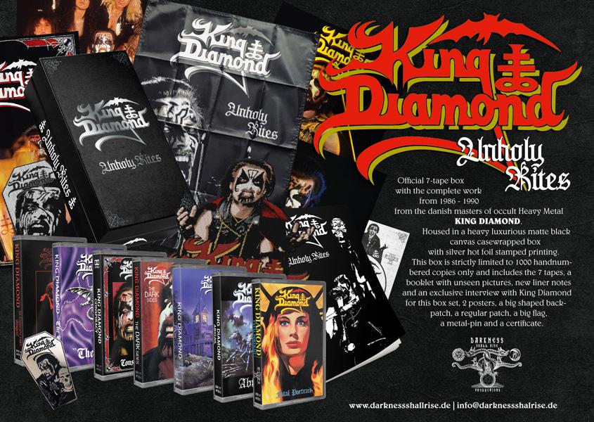 KING DIAMOND - Box tapes en pré-commande Dsr-1110