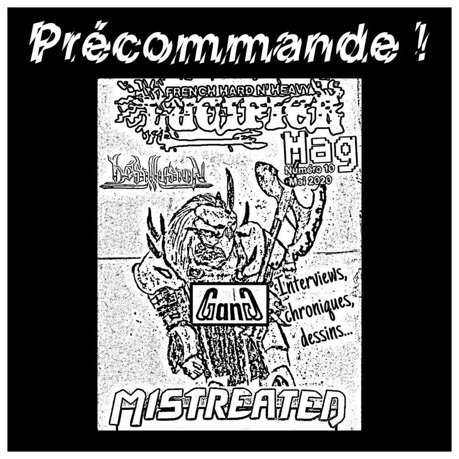 """nouveau mag de LUCIFER hard rock metal francais""""dispo Lumag10"""