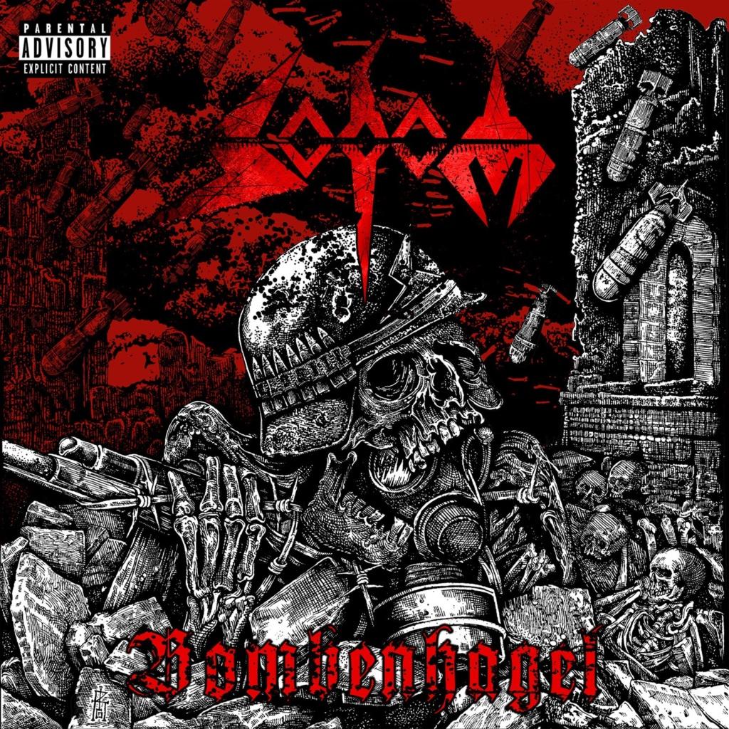 "SODOM (Thrash Metal) - Sortie de leur nouvel EP, ""Bombenhagel"", le 20 août 2021 Okyqex10"