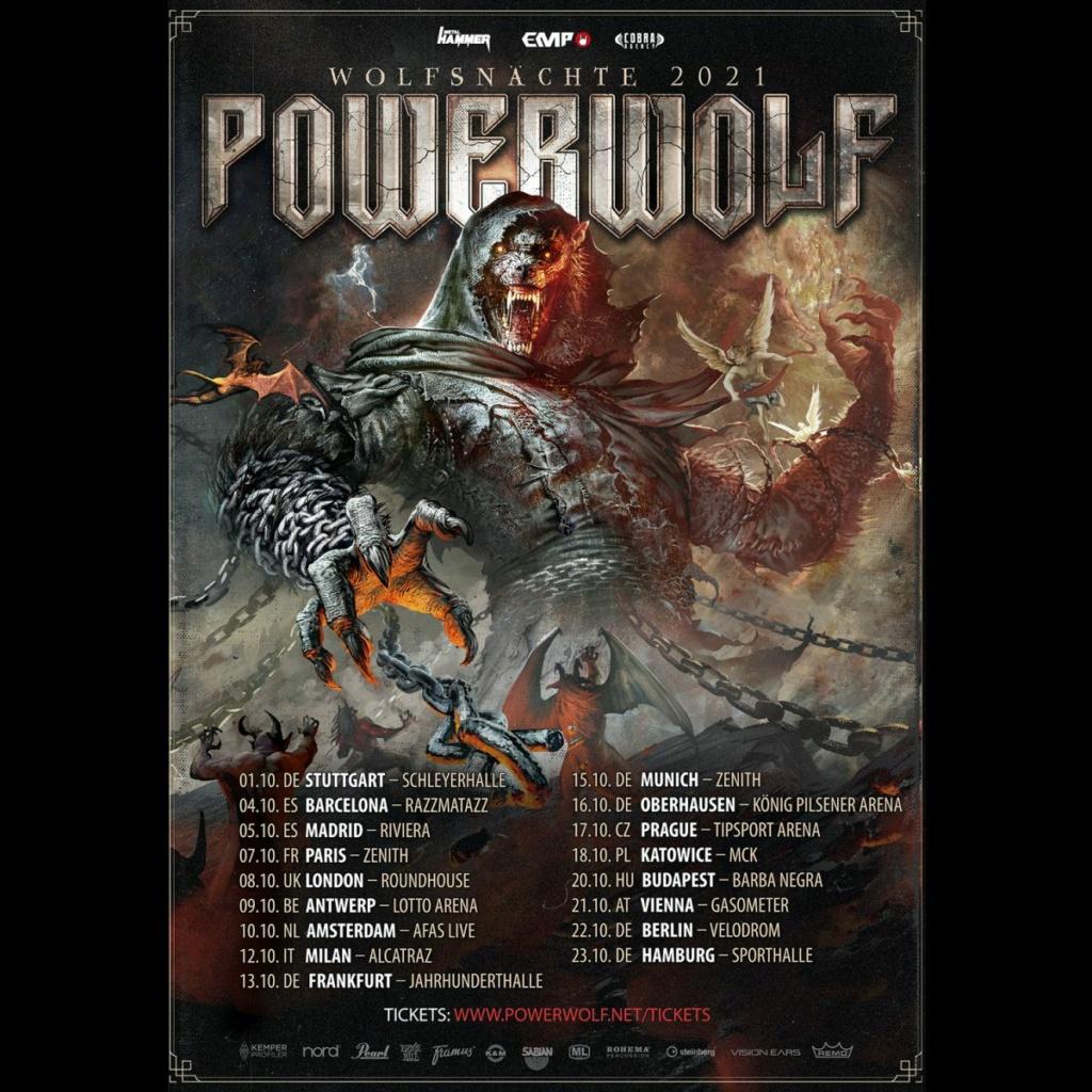 POWERWOLF - Wolfsnächte 2021 Powerw10