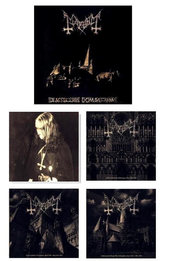 """MAYHEM (Black Metal / Norvège) - Réédition de la box anniversaire """"De Mysteriis Dom Sathanas"""" Sans_123"""