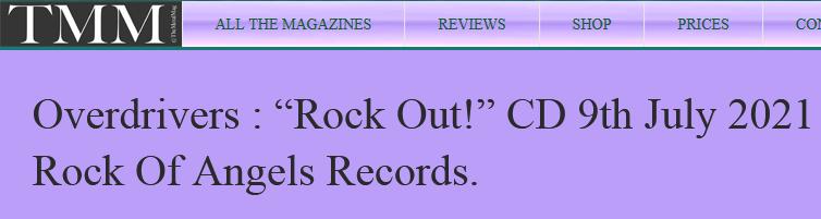 """OVERDRIVERS (Hard Rock) - un nouvel EP, intitulé """"Rock Out!"""", le 9 Juillet 2021 Sans_t17"""
