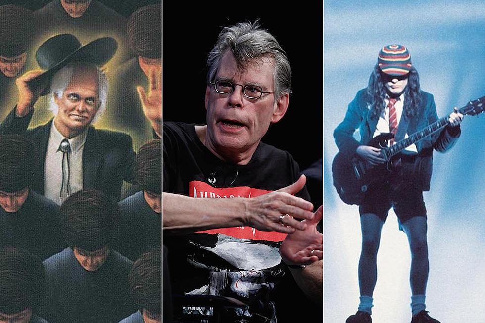 Stephen King et son goût pour le hard rock et le Metal ! Stephe10