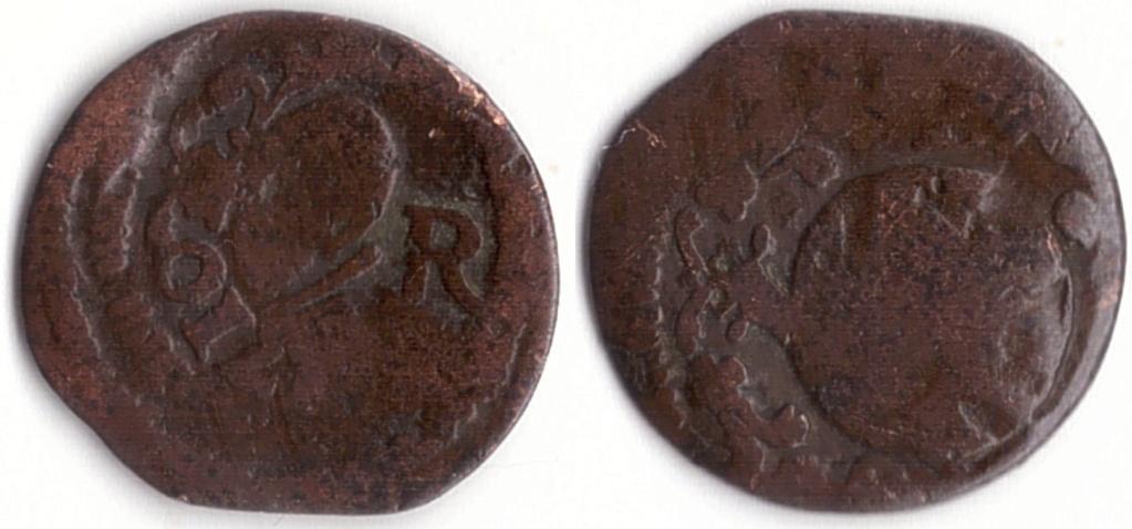 ardite Carlos III pretendiente encima de la moneda de Felipe III? IV? 110