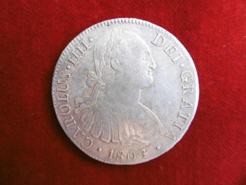 Real A8 de Carlos IV, (1804 México T.H) S-l16012