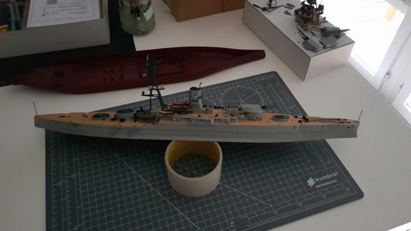 Hobby BOSS - USS ARIZONA BB-39 1/350ème - Page 2 20190218