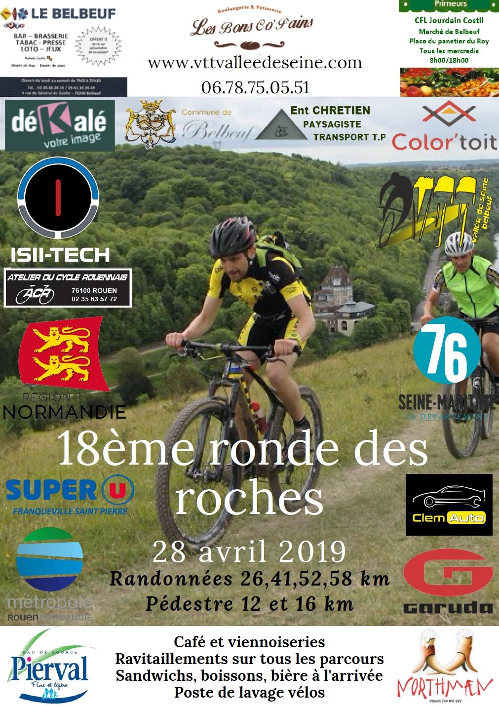 [28 avril 2019] Ronde des Roches 2019 Affich10
