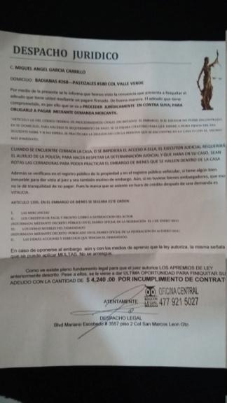 Cobranza 15495810