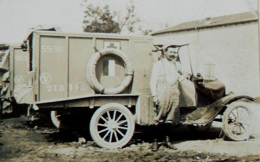 Ford T 1917 Ambulance [ICM 1/35] 23502610