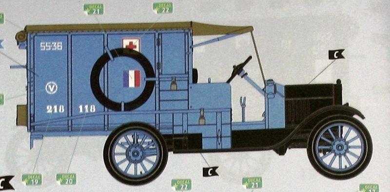 Ford T 1917 Ambulance [ICM 1/35] 31575_10